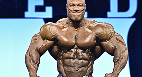 Is Phil Heath op steroïden?Kwamen we erachter!